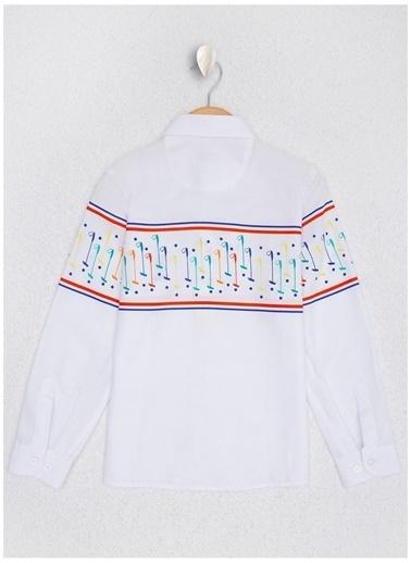 U.S. Polo Assn. U.S. Polo Assn. Erkek Çocuk Beyaz Gömlek Beyaz